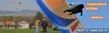 Paraglidingová sezóna 2013 zahájena