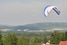 Paragliding Let na tandemovém padáku na Javorovém v Beskydech