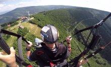 Základní let paragliding - seznámení s paraglidingem