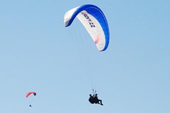 Paragliding - vyhlidkovy let Javorovy-vrch